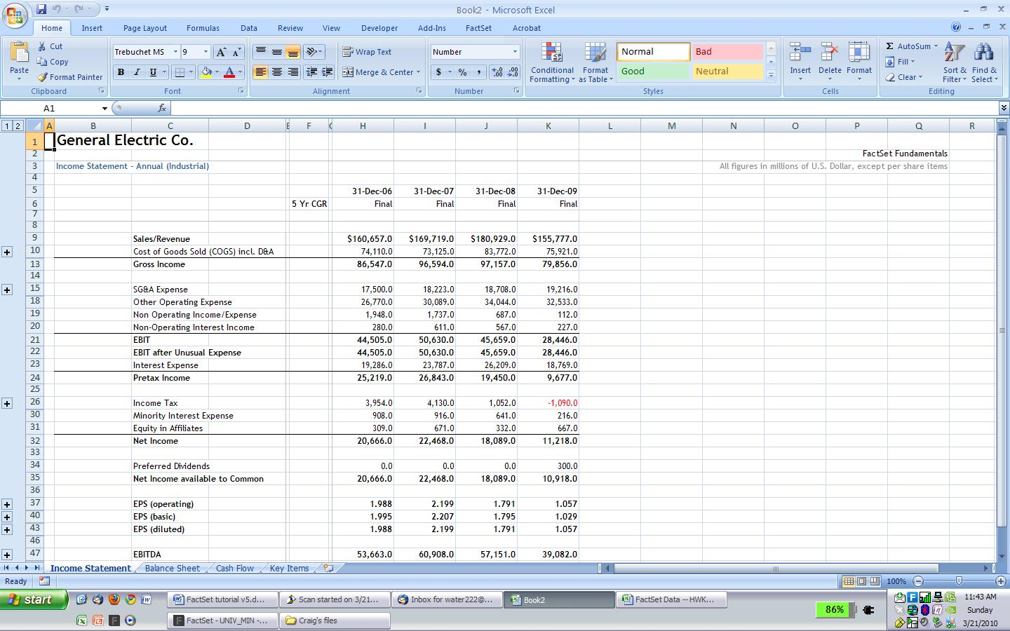 famous financial modeling wiki company research importing
